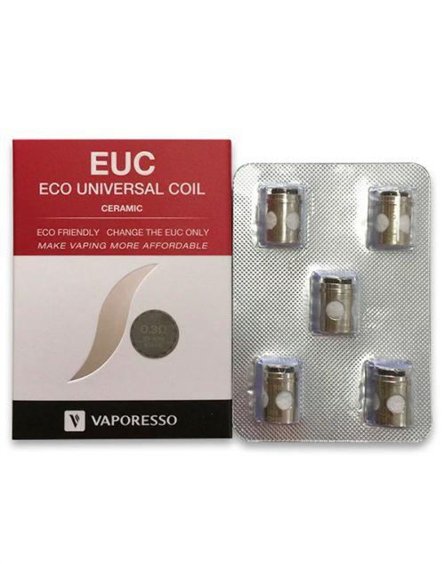 Résistances EUC Ceramic Veco Tank Vaporesso