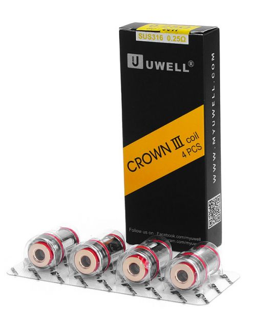 Résistances Crown 3 Uwell