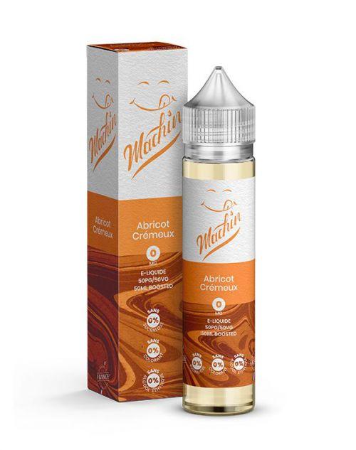Eliquide Abricot Crémeux 50 ml Machin